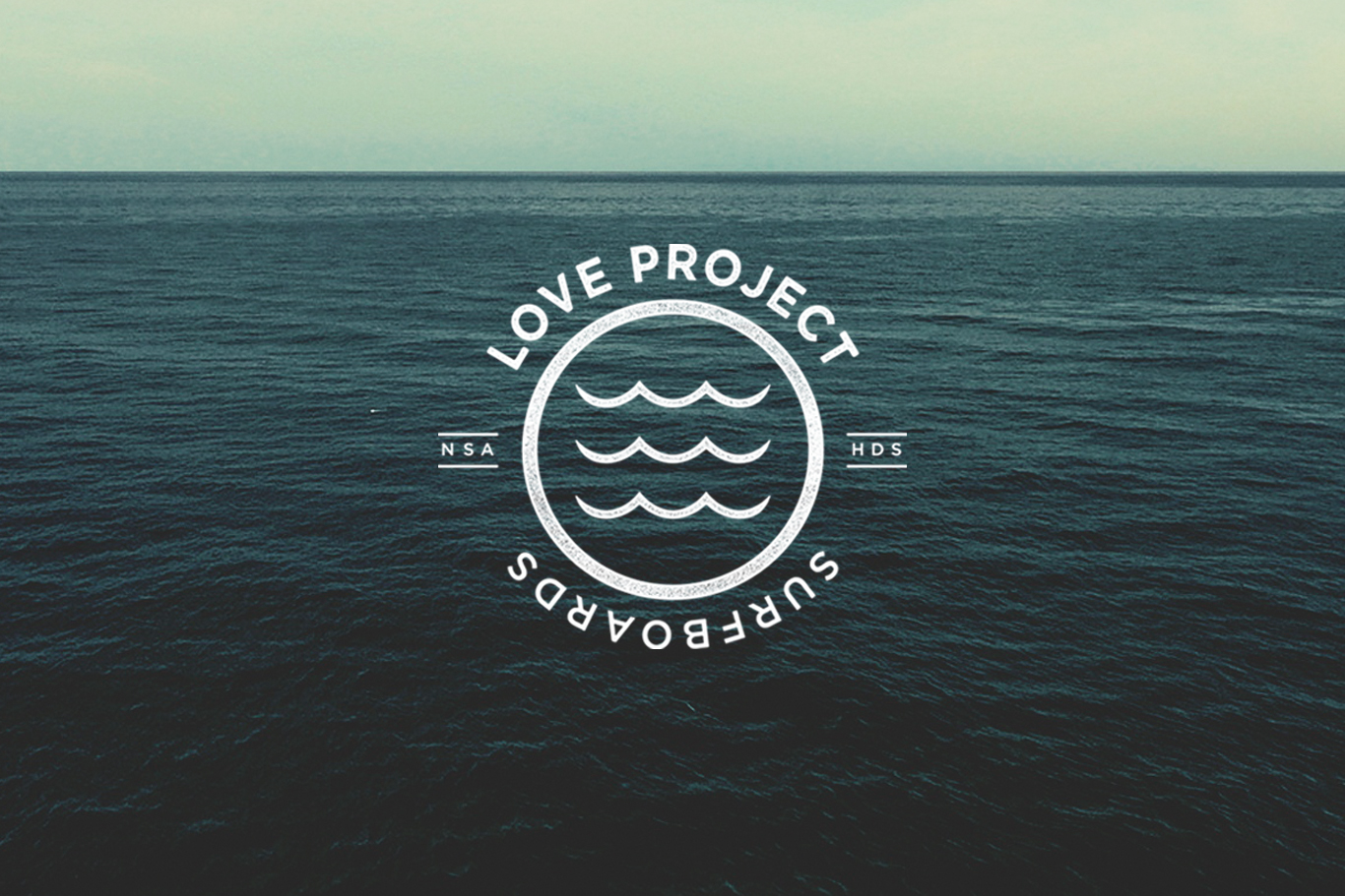 Love Project Surfboards Logo