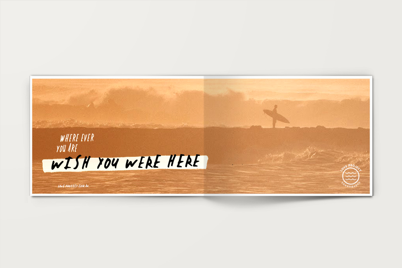 Love Project Surfboards Branding and Identity