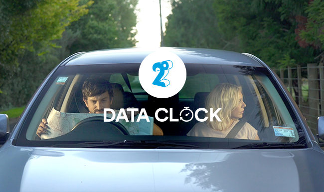 2Degrees Data Clock Launch Campaign