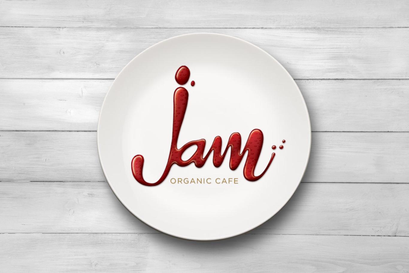 Jam Organic Cafe Logo