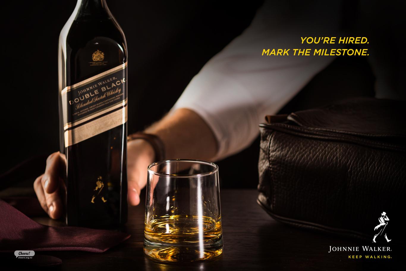 Johnnie Walker Milestones Campaign